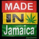 MADE IN JAMAICA Marijuana Roots Reggae T-shirt M L XL