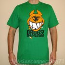 DRUGS So Tasty And Good North Dragon Japan T-Shirt M Medium Green