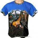 Salvador Dali Daddy Longlegs HOPE Hand Print Fine Art Short Sleeve T Shirt Men's XL