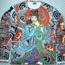 Japanese Goddess IREZUMI Tattoo New Long Sleeve Shirt Unisex L