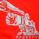 MEGATRON Transformers New Decepticon T-shirt S Red NWOT