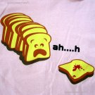 Ahh.h Sneezy Toast New CISSE T-shirt Asian L Pink BNWT!