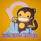 KING KONG RETURN New CISSE T-shirt Asian XL Yellow BNWT