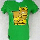 MOO Cow Fun New Cisse Club T-shirt Misses S BNWT! Rare!