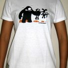 FOOD CHAIN New Cap Sleeve CISSE T-Shirt S White BNWT!