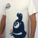 SAMURAI Profile RONIN JAPAN Tokyo Yakuza Gangster T-Shirt XXL 2XL Cream