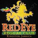 RED EYE REGGAE CLUB KINGSTON JAMAICA T-shirt XL Black