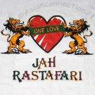 Jah Rastafari ONE LOVE Judah Lions Reggae T-shirt S-XL