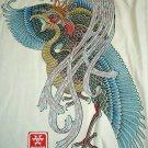 BRILLIANT PHOENIX RONIN Japan T-Shirt M Cream