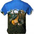 Salvador Dali Daddy Longlegs HOPE Hand Print Art Short Sleeve T Shirt Mens L