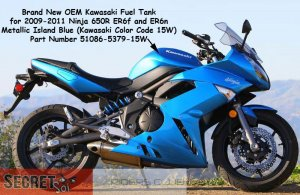 Kawasaki 51086 5379 15w Ninja 650r Er6f Er6n Oem Gas Fuel