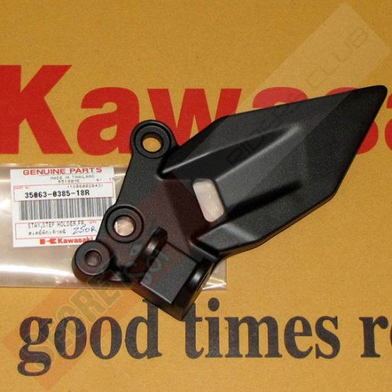 Kawasaki 35063-0385-18R Ninja 250R EX250 OEM LH LEFT STAY STEP 08 09 10 11 12
