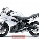 Kawasaki 36040-0081-15S Ninja 650R ER6n ER6f OEM LH Left TAIL FAIRING PEARL WHITE 09 10 11
