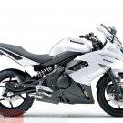Kawasaki 36040-0082-15S Ninja 650R ER6n ER6f OEM RH TAIL FAIRING PEARL WHITE 09 10 11