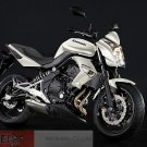 Kawasaki 14091-1587-15S ER6n OEM Headlight Cover Pearl White 09 10 11