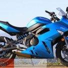 Kawasaki Ninja 650R ER6n ER6f OEM RH Right TAIL FAIRING 36040-0082-15W Metallic Island Blue 09 10 11