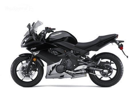 Kawasaki Ninja 650R ER6f OEM Lower Left Fairing SILVER Part Number 55028-0238-170 2009 2010 2011