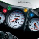 Kawasaki 25031-0361 Ninja 250R SE White Dials OEM Instrument METER ASSEMBLY KPH 2008-2012