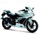Kawasaki Ninja 250R EX250 OEM FRONT FENDER Pearl White 2008-2012 35004-0079-G3