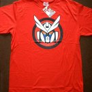MR ROBOTO Japan Punk Rock NORTH DRAGON T-Shirt L Large RED