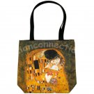 KISS Gustav Klimt Art Print Bag Purse Messenger Tote S Small