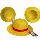 One Piece cosplay Monkey D Luffy Hat gold