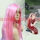 Naruto Haruno Sakura Pink Cosplay Wig
