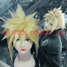 Final Fantasy Cloud Strife yellow cosplay wig