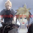 Final Fantasy Cloud Strife golden cosplay wig