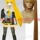 Vocaloid Akita Neru yellow cosplay wig