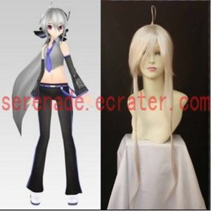 Vocaloid haku Cosplay wig