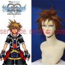 Kingdom Hearts Sora cosplay wig