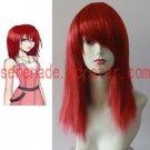 Kingdom Hearts Kairi red long cosplay wig