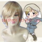 Hetalia Axis Powers Tino Vainaminen cosplay wig