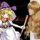 Touhou Project Kirisame Marisa cosplay wig