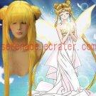 Sailor Moon Tsukino Usagi lemon yellow cosplay wig