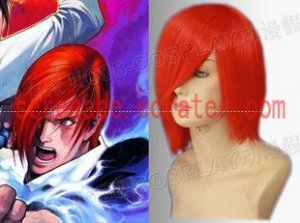 The King Of Fighters Yagami Iori Cosplay wig