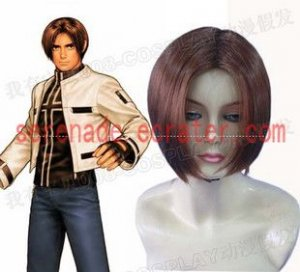 The King Of Fighters Kyo Kusanagi Cosplay wig
