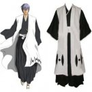 Bleach 3rd Division Captain Ichimaru Gin Cosplay Costumes