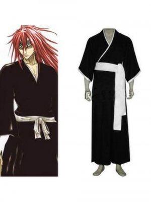 Bleach Abarai Renji Men's Cosplay Costume