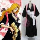 Bleach Matsumoto Rangiku Womens Cosplay Costume