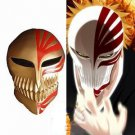 Bleach Kurosaki Ichigo bankai Full Hollow Mask cosplay Mask golden