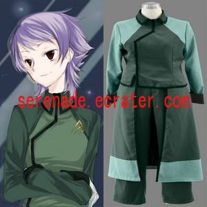 Gundam 00 A-LAWS Woman's Cosplay Costume
