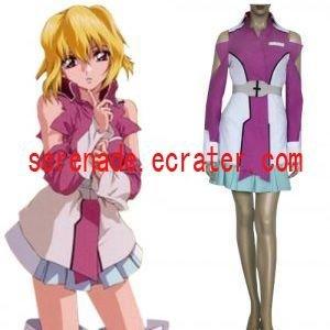 Gundam Seed Destiny Stellar Louisser Military Uniform Cosplay Costume