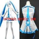 Vocaloid Snow Hatsune Miku Cosplay Costume