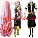 Vocaloid Megurine Luka Cosplay Costume And Wig