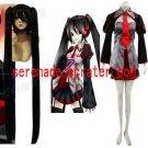 Vocaloid Zatsune Miku Cosplay Costume And Wig