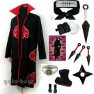 Naruto Cosplay Akatsuki cloak Konan Costume DHL Shipping