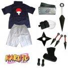 Naruto Uchiha Sasuke Cosplay Costume and accessories