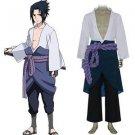 Naruto Shippuden Uchiha Sasuke 3rd Cosplay costume
